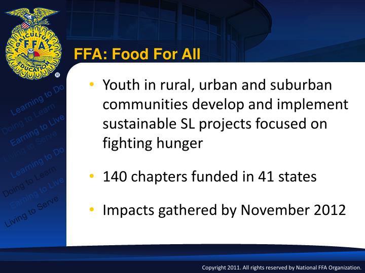 FFA: Food For All