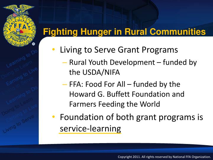 Fighting Hunger in Rural Communities