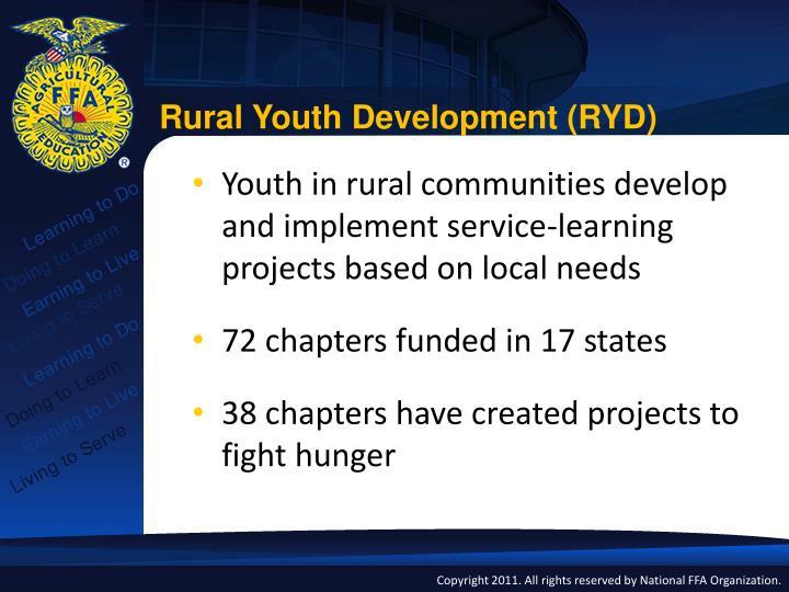 Rural Youth Development (RYD)