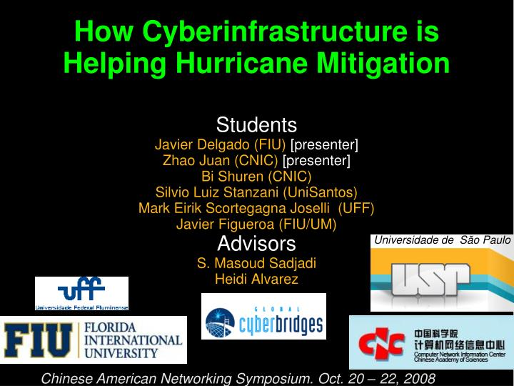 How cyberinfrastructure is helping hurricane mitigation