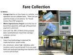 fare collection