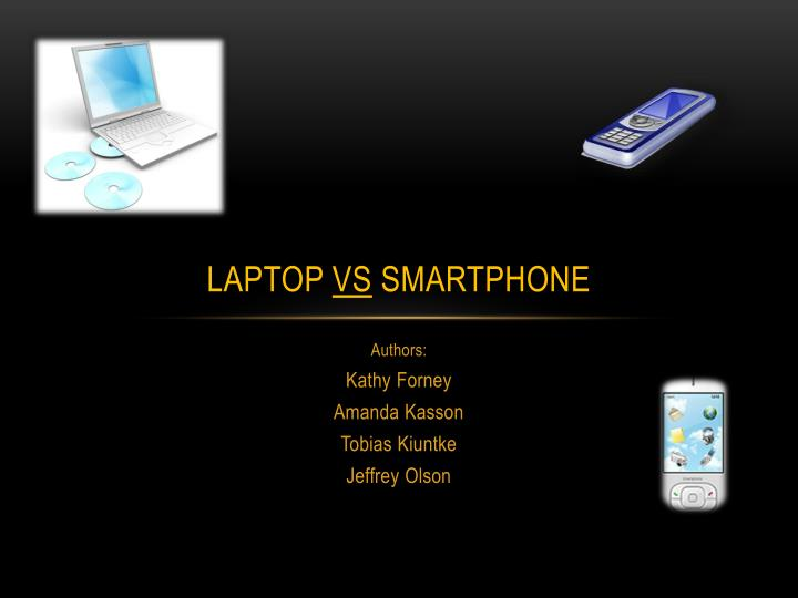laptop vs smartphone