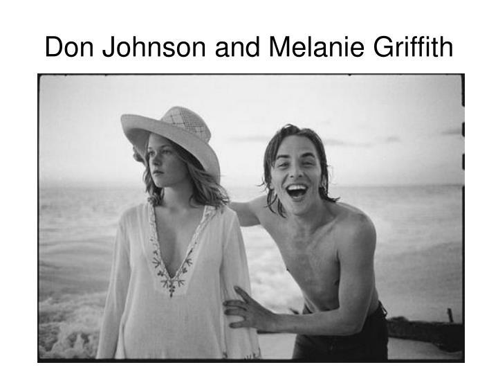 Don Johnson and Melanie Griffith
