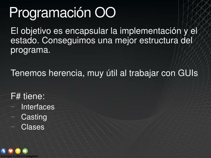 Programación OO