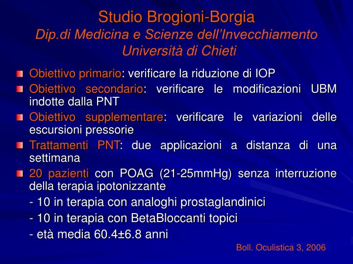 Studio Brogioni-Borgia
