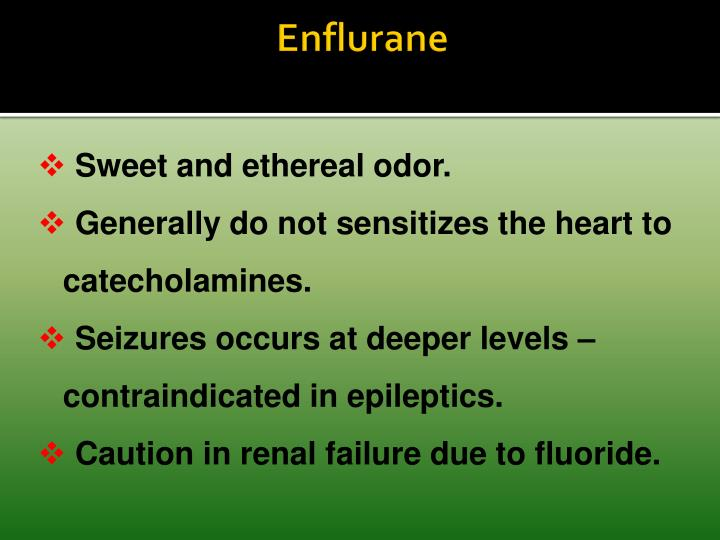 Enflurane