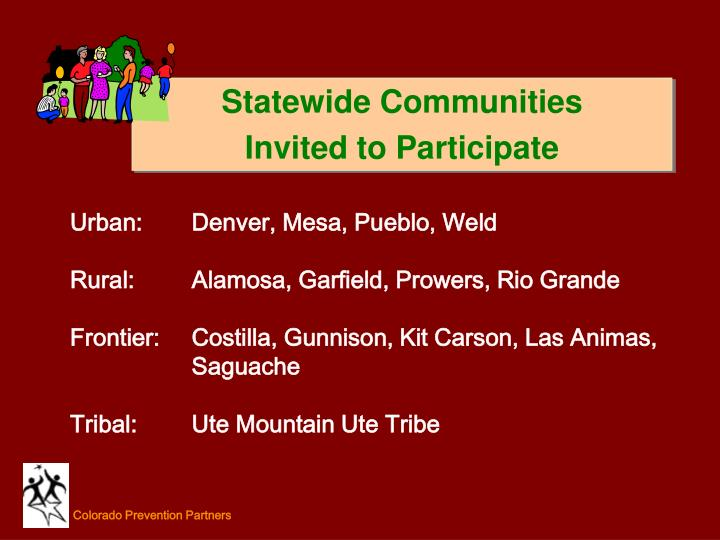 Statewide Communities