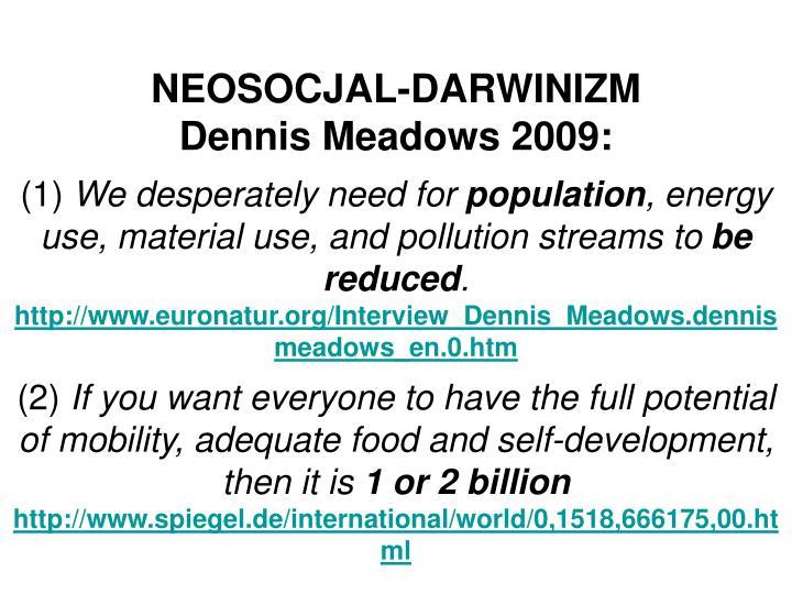 NEOSOCJAL-DARWINIZM