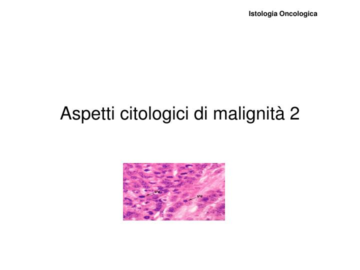 Istologia Oncologica
