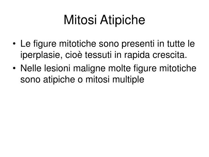 Mitosi Atipiche