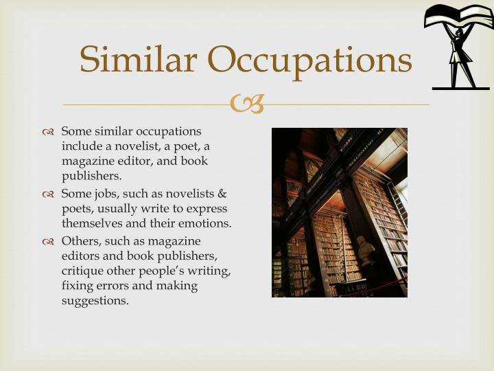 Similar Occupations