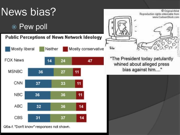 News bias?