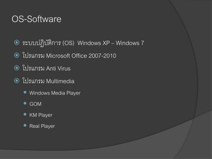 OS-Software