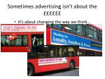 sometimes advertising isn t about the