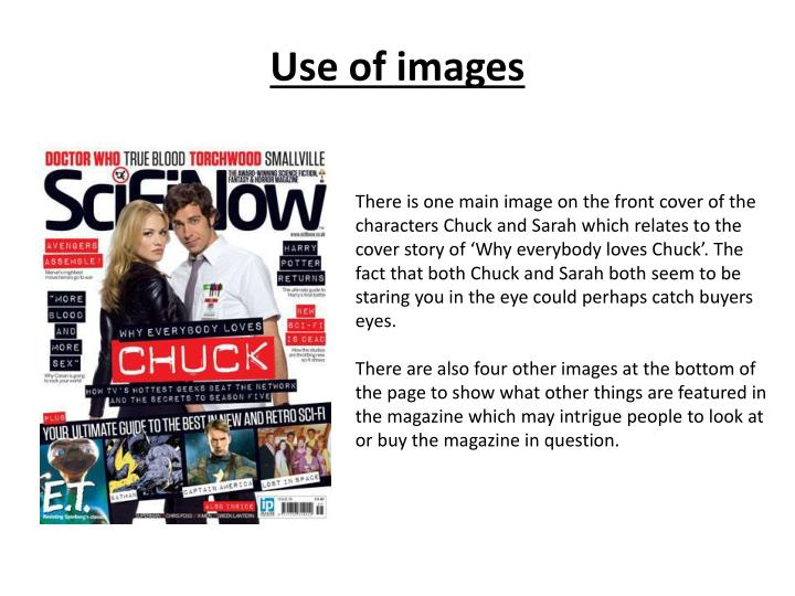 Use of images