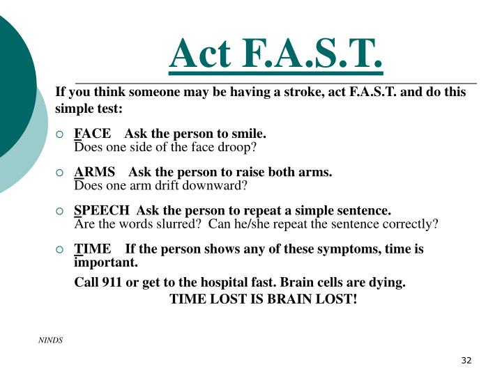 Act F.A.S.T.