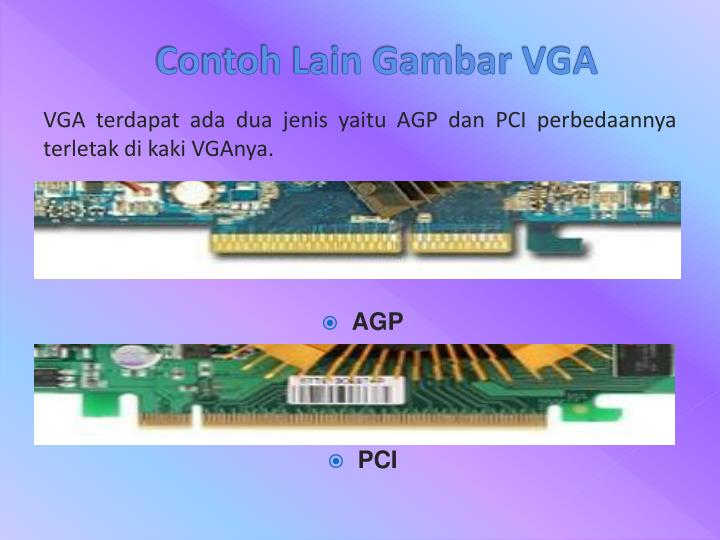 Contoh Lain Gambar VGA