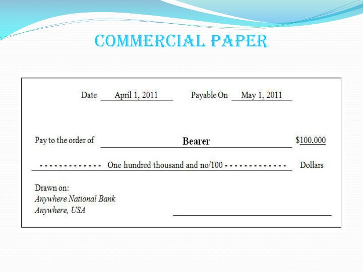 Commercial paper
