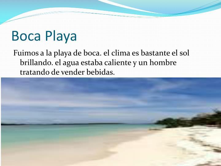 Boca Playa