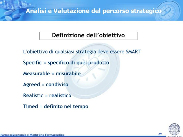 Analisi e Valutazione del percorso strategico