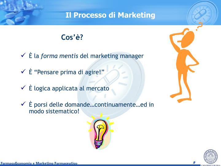 Il Processo di Marketing