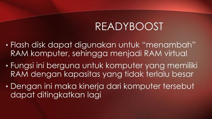 readyboost