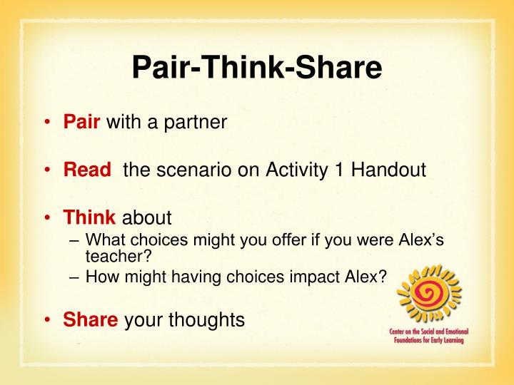 Pair-Think-Share