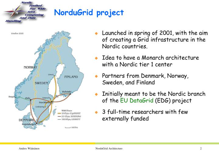 Nordugrid project