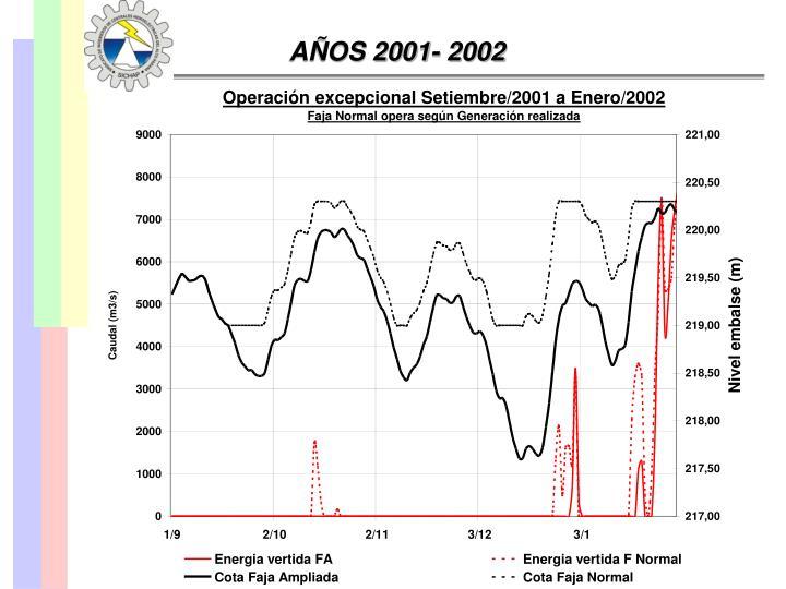 AÑOS 2001- 2002