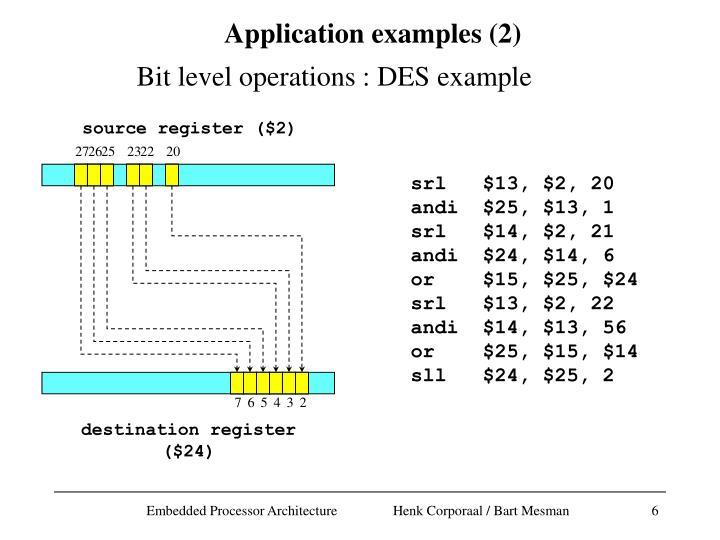 source register ($2)