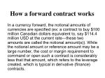 how a forward contract works4