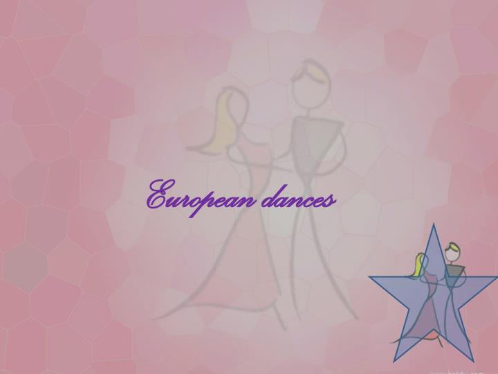 European dances