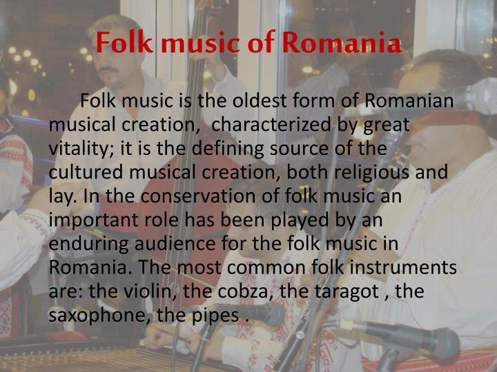 Folk music of Romania