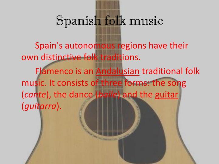 Spanish folk music