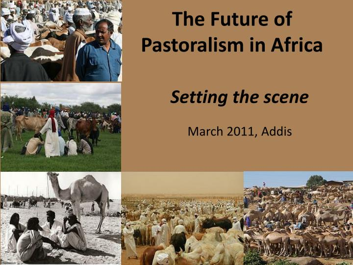 The future of pastoralism in africa