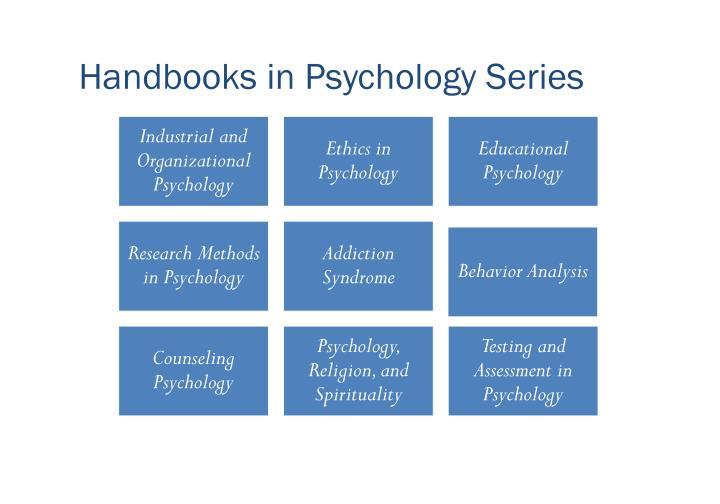 Handbooks in Psychology Series