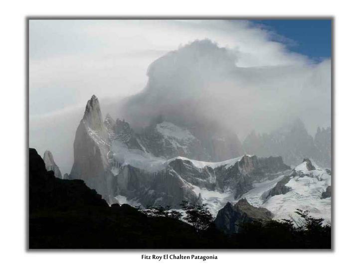 Fitz Roy El Chalten Patagonia