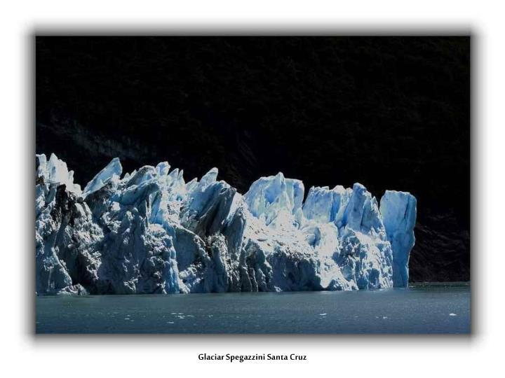 Glaciar Spegazzini Santa Cruz