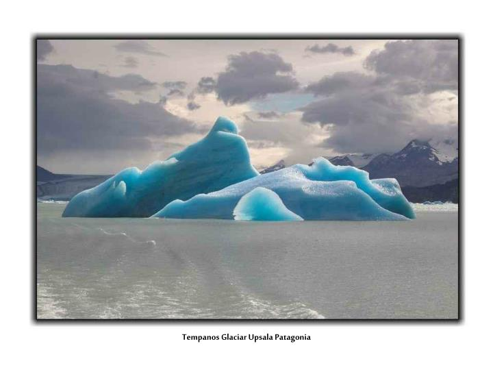 Tempanos Glaciar Upsala Patagonia