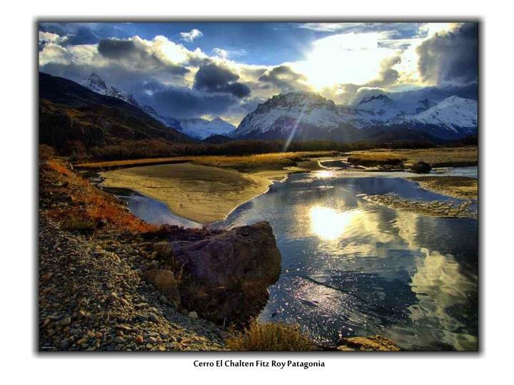 Cerro El Chalten Fitz Roy Patagonia