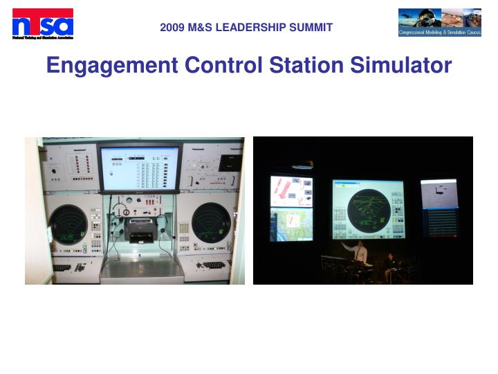 Engagement Control Station Simulator
