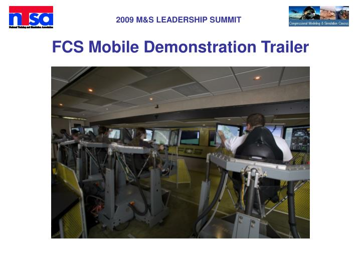 FCS Mobile Demonstration Trailer
