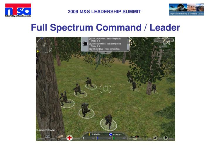 Full Spectrum Command / Leader