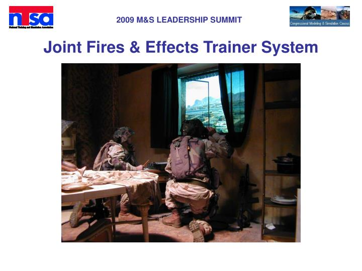 Joint Fires & Effects Trainer System