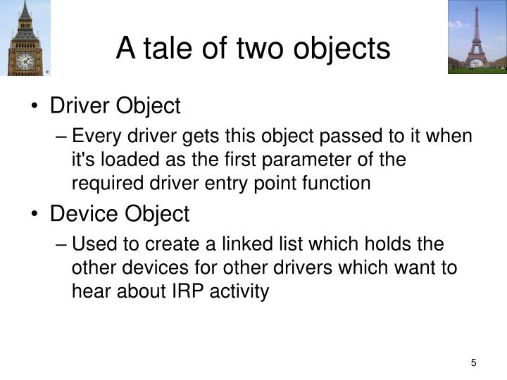 A tale of two objects