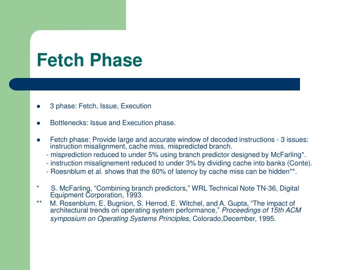 Fetch Phase