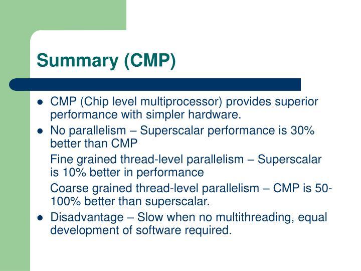Summary (CMP)