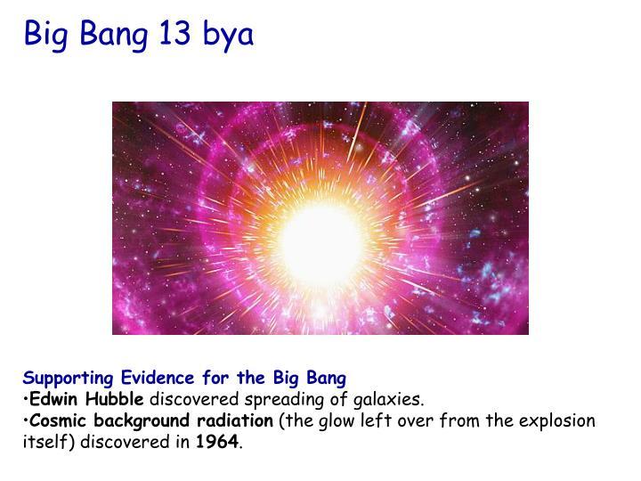 Big Bang 13 bya