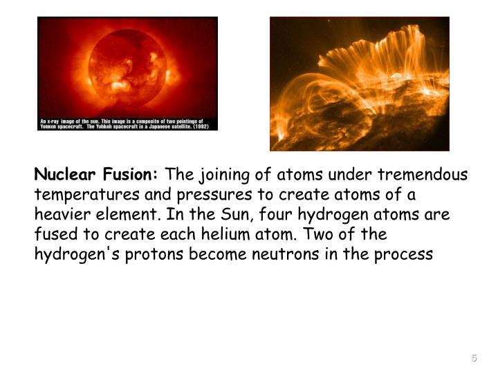 Nuclear Fusion: