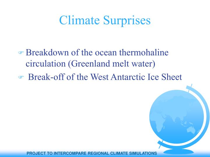 Climate Surprises